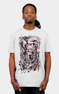 LION!, TIGER! and um kitten? T-Shirt
