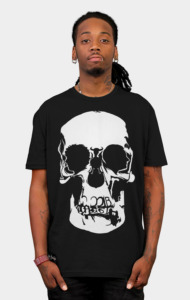 Sherlock: Skull on the Wall T-Shirt