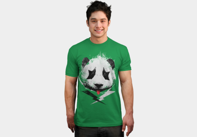 Panda Rock! T-Shirt - Design By Humans