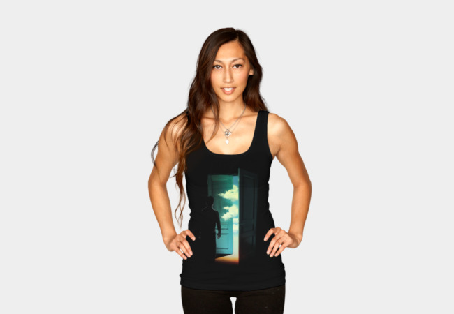 Door to the World Tank Top - Design By Humans