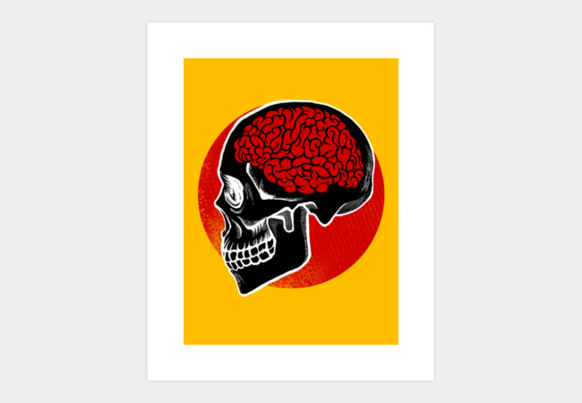 RedBrain Art Print - Design By Humans