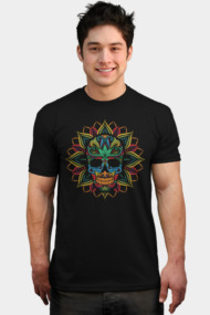 Ornament Skull Tribal
