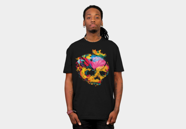 SkullAbstract T-Shirt - Design By Humans