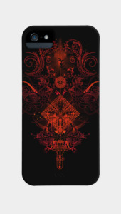 Star collision Phone Cases