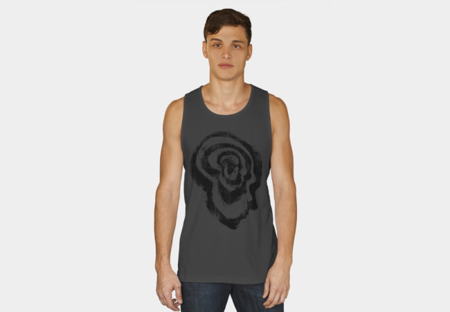 The Evolution of Man Tank Top - Design By Humans