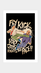FlyKick Art Prints