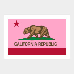 California Republic state flag - Authentic Version