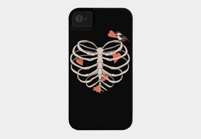 The Heart Collector Phone Case - Design By Humans