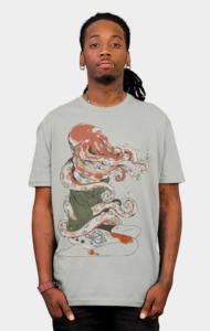 My head is an octopus T-Shirt