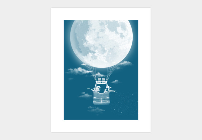 Around the World in 30 Nights Art Print - Design By Humans