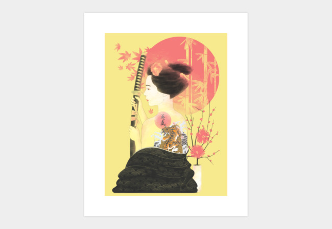 Eiki - the True Beauty Art Print - Design By Humans