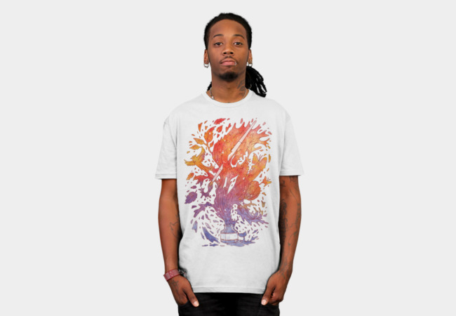 Draw itself T-Shirt - Design By Humans