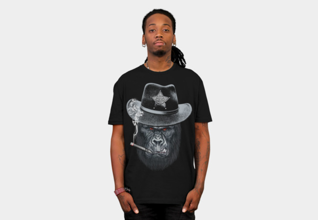 Sheriff T-Shirt - Design By Humans