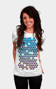 Tri-patterns T-Shirt