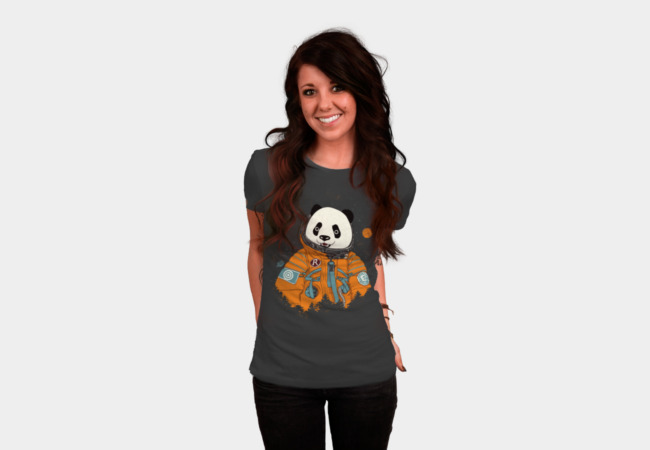 Pandastronaut T-Shirt - Design By Humans