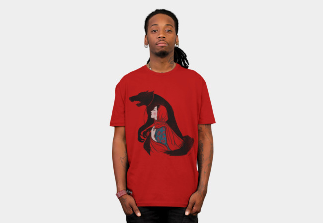 Taming of the wolf T-Shirt - Design By Humans
