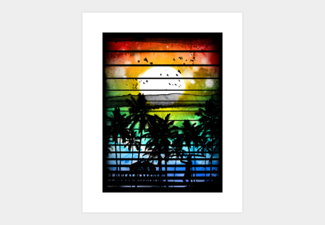 VIVID STRIPES Art Print - Design By Humans