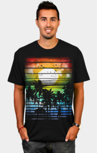 VIVID STRIPES T-Shirt