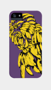 Gorilla Banana Phone Cases