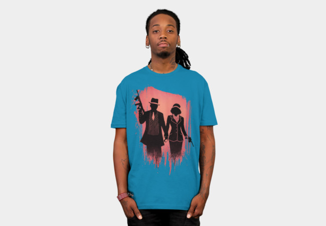 Outlaw lovers T-Shirt - Design By Humans