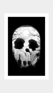 Till Death Do Us Apart (white) Art Prints