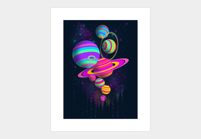 Gumballs Universe Art Print - Design By Humans