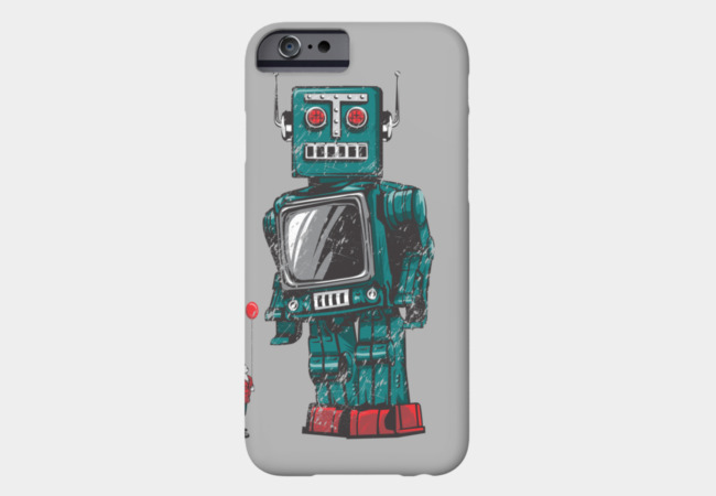 Childhood's Hero Phone Case - Design By Humans
