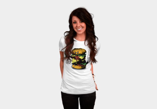 Burgercide T-Shirt - Design By Humans