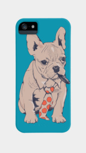 French Bulldog Boss Phone Cases