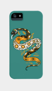 Rainbow Serpent Phone Cases