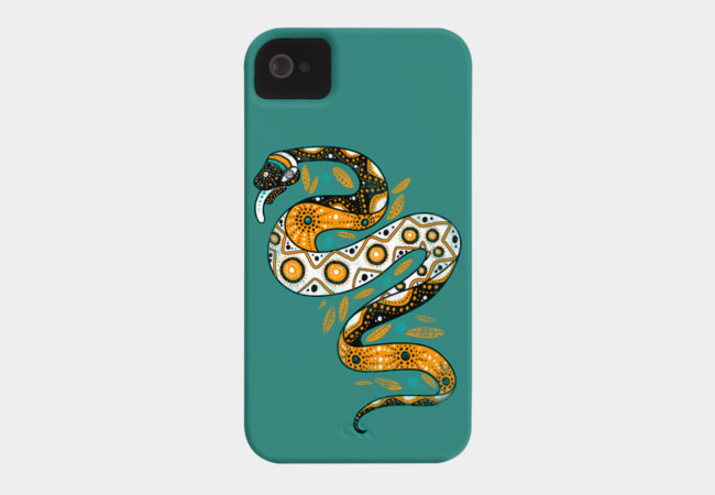 Rainbow Serpent Phone Case - Design By Humans