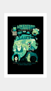 Adventure Comics Art Prints