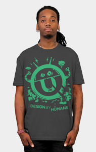 DBH Artist Series Robot Logo - Green Edition T-Shirt