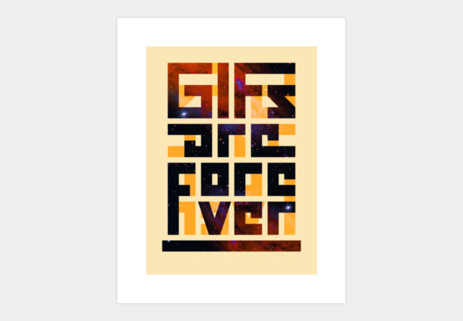 GIFS Are Forever Art Print - Design By Humans