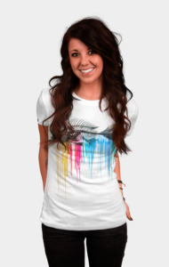 Color Bleed T-Shirt
