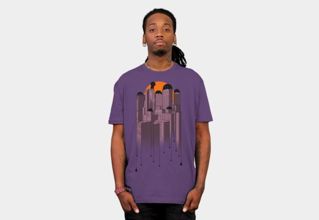 The City Never Sleeps T-Shirt - Design By Humans