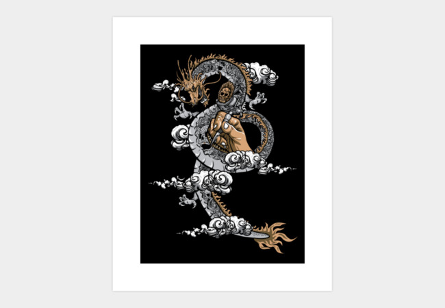 God of Tattoo Art Print - Design By Humans