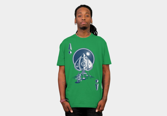 Ace Of Spaces T-Shirt - Design By Humans