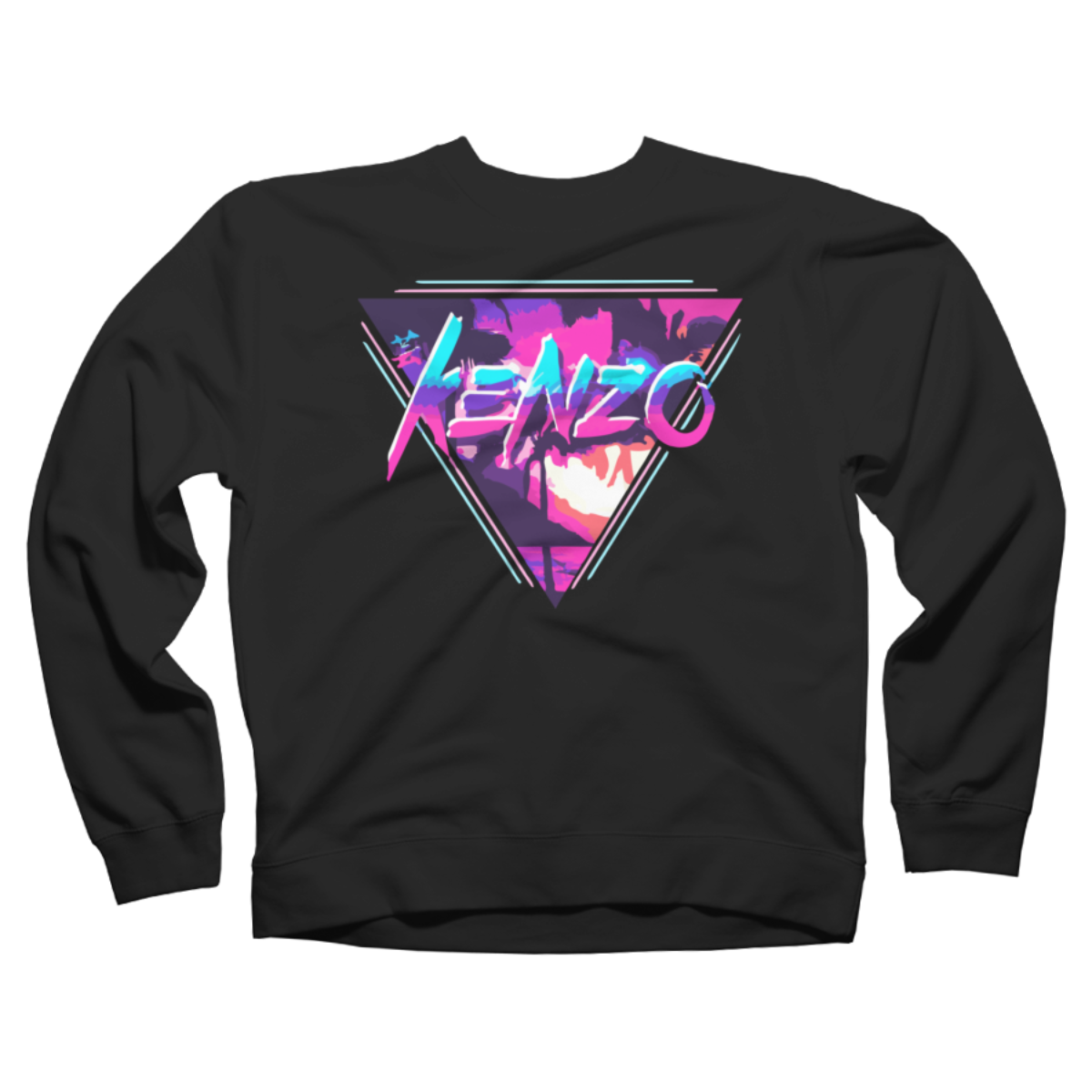 Kenzo Art logo tshirt Crew Neck Sweatshirt Kenzo Art logo tshirt is a cozy ring spun cotton Black %type designed by KenzoArt. This design is featured in sci-fi & fantasy, art styles, neon, retro, space, summer, themes, vintage designs. Shop DesignByHumans.com for the best selection of cool graphic tees, tank tops, sweatshirts, notebooks, phone cases, and art prints.