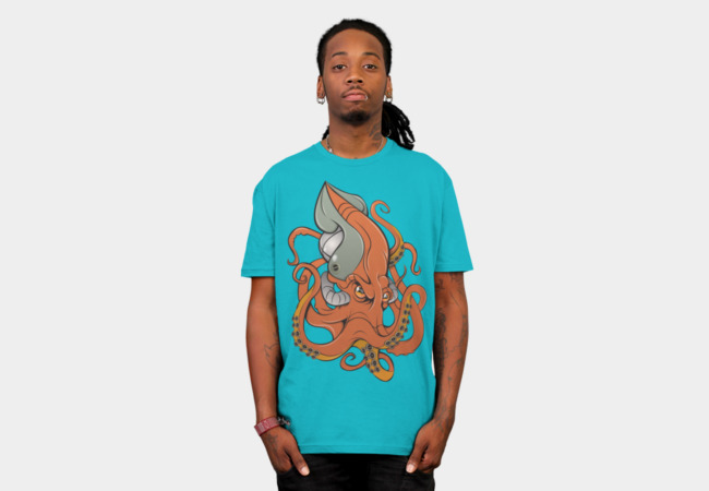 OctoRobotica T-Shirt - Design By Humans