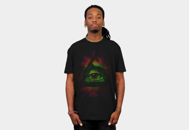 The Eye II T-Shirt - Design By Humans