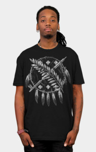 Flag by Qetza T-Shirt