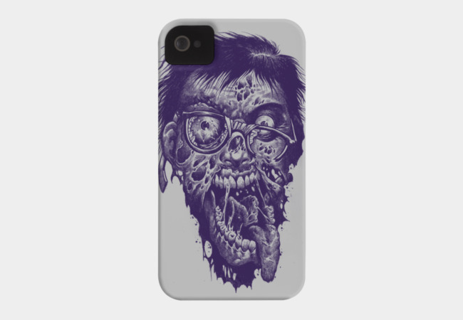 Geek Zombie Phone Case - Design By Humans