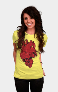 Skull of Heart T-Shirt