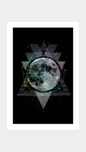 The Moon Art Prints