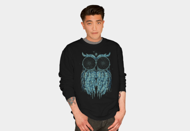 Owl Dream Sweatshirt - Design By Humans