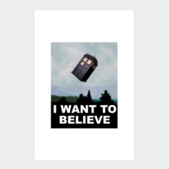 I Want to Believe... in The Doctor.
