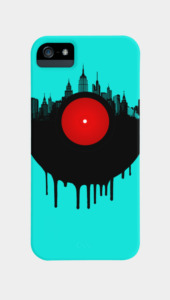 The Vinyl City Phone Cases