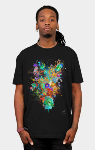 Candy Sweet Skull T-Shirt