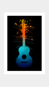 Electric Guitar Art Prints